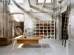 unique office designs. Unique Cool Attractive Home Office Design Idea With Old Wall Paint Designs R