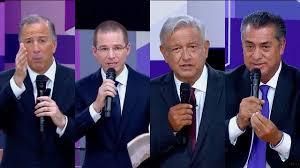 Resultado de imagen para candidatos a la presidencia 2018