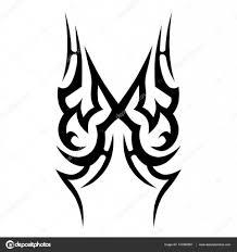 татуировка племенных векторных образцов векторное изображение