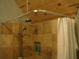 diy curved curtain rod degree shower curtain shower shower curtains inlet diy curved window curtain rod