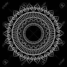 Mandala Design Background Abstract Elegant Mandala Design Background