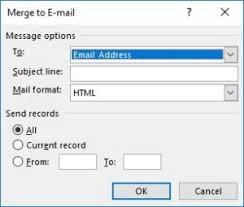 Word Mail Merge How To Send Bulk Email Using Mail Merge In Word The