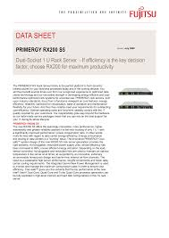 primergy rx200 <b>s5</b>