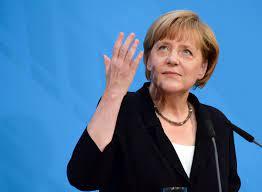 Angela Merkel ...