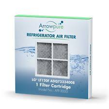 lg refrigerator air filter replacement. arrowpure refrigerator air filter replacement for lg lt120f, adq73334008 lg r