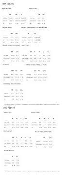 Mares X Stream Size Chart Tilos Quill Open Heel Snorkeling Fins