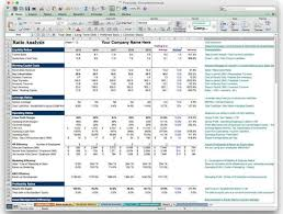 small business profit and loss statement template spreadsheet using excel for small business accounting basic