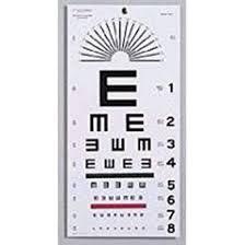 Bnd Chart Graham Field Health A Illiterate Eye Chart 22 X11 By Bnd