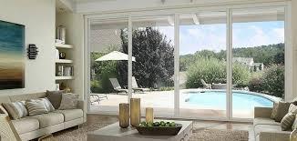 milgard sliding glass doors series vinyl 4 panel sliding patio door with handle milgard sliding glass milgard sliding glass doors