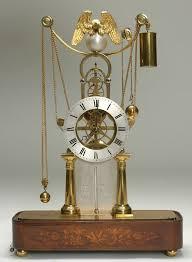 unusual skeleton clock