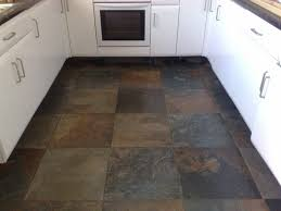 Slate Kitchen Floors Slate Tile Kitchen Floor Homes Design Inspiration