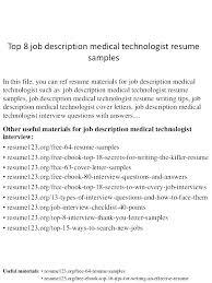 Medical Laboratory Technician Cover Letter Dialysis Technician Cover