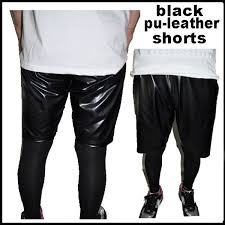 simple black and white and easy to use short pants