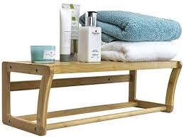 towel rack with shelf you ll love in