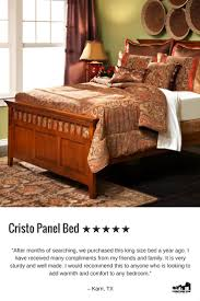 Solid Ash Bedroom Furniture Best Reviewed Bed Cristo Panel Bed Made Of Solid Rubberwood With