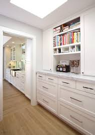 brushed-nickel-cabinet-pulls-Kitchen-Contemporary-with-12 -shaker-appliance-panel-bookshelf-cabinets-California