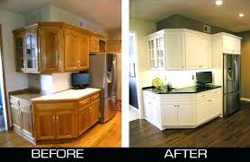 Cabinet refacing before and after Affordable Bathroom Cabinet Refacing Before And After Lovely Maple Vanities Beautiful Fresh Cabinets Earth Smart Remodeling Inc Bathroom Cabinet Refacing Mesmerizing Lowes Dallemanco