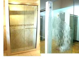 frosted glass shower doors for tubs images tinted enclosures a bathrooms magnificent show