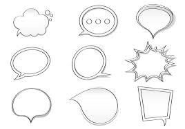 Photoshop Speech Bubble Hand Drawn Speech Bubble Brushes Pack Free Photoshop