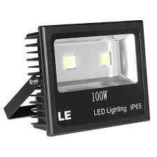 Le Lighting 100w Led Floodlight 2 Year Warranty 10150lm Stadium Light 250w Hps Equivalent Daylight White Flood Light Fixture