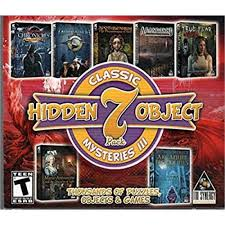 Hidden object games (hog) are sometimes called hidden pictures, and they are part of a genre of puzzle video games in which you have to find items from a list that are hidden within a picture. Classic Mysteries Iii Hidden Object 7 Pack Pc Game Tri Synergy Walmart Com Walmart Com