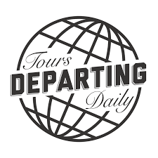 A redesigned globe logo for Tours Departing Daily by Matthew Hansen ...