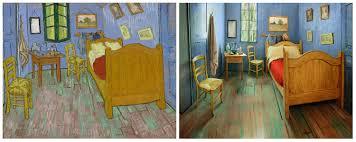 Painting The Bedroom Van Goghs Bedroom Recreated In Chicago As Airbnb Rental Al