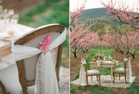 Beautiful Blossom Filled Spring Wedding Ideas In An Orchard Chic