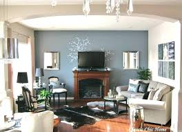 living room ideas with electric fireplace and tv wall mounted