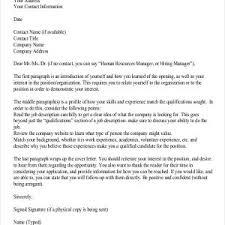 General Cover Letter Samples For Resume Archives Dockery
