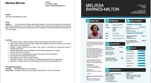boring vs. interesting resume layout
