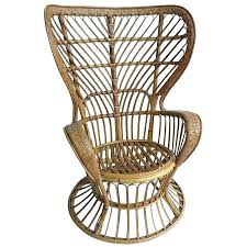 high rattan chair by and wicker for corner house antiques wingback indoor chairs g