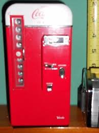 Coca Cola Vending Machine Musical Bank Vendo 1994