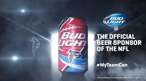 Atlanta Falcons Bud Light Cans Atlanta Falcons Myteamcan Fab News