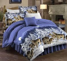 duvet covers 33 fancy design ideas wolf bedding sets full com pdk regency midnight wolves