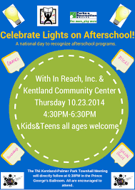 Lights On Afterschool Lights On Afterschool 2014 Flyer