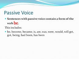 Essay Day 3 Active And Passive Voice Transition Words Ppt Download