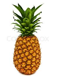 pineapple transparent background. ripe and tasty pineapple over the white background transparent b