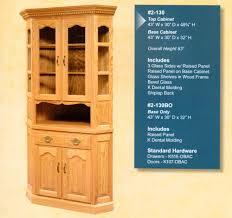 Corner Hutches Archives Amish Oak Furniture & Mattress Store
