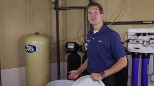 How To Maintain A Water Softener Water Softener Maintenance Cleaning Out Your Brine Tank Youtube