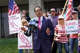 GOP radio host Larry Elder sues to get ...