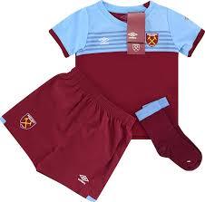 Shop the best home, away and third west ham united kits & shirts. 2019 20 West Ham Home Full Kit Bnib Little Boys Classic Retro Vintage Football Shirts