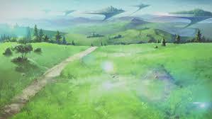 green grass field animated. Floor 1: Grass Fields - Forums MyAnimeList.net Green Field Animated T