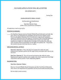 Data Entry Job Resume Samples Free Resume Example And Writing