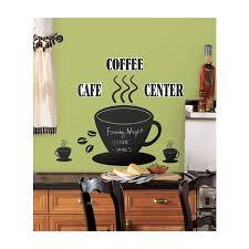 chalkboard coffee cup wall sticker