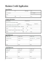 Account Application Form Template Generic Credit Application Clergy