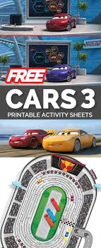 Free Cars Printables Cars 3 Printable Activity Sheets Free To Download And Print Kids