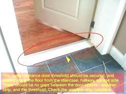 replacing garage door seal install garage door seal door bottom seal front door seal bottom ting replacing garage door seal