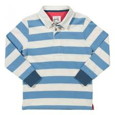 kite pale blue white stripe rugby shirt
