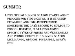 seasons in 5 season the